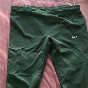 Black Nike Dri-Fit leggings